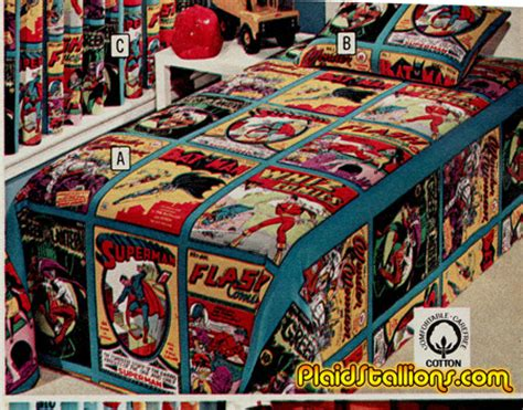 superhero bed sheets plaid stallions rambling and reflections on 70s pop