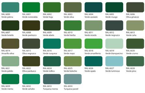 Pantone Green Gama De Colores Ral