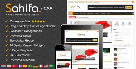 sahifa theme wordpress free download sahifa v2 5 0 responsive wordpress news magazine blog