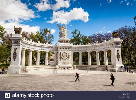 Alameda Search Benito Ju 225 Rez Hemicycle Alameda Central Park Mexico City Mexico Stock Photo