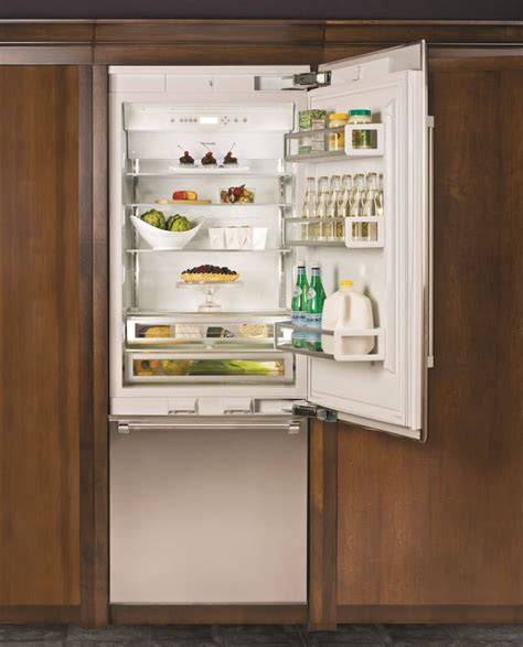 thermador 30 refrigerator freezer thermador t30ib800sp 30 inch built in bottom freezer refrigerator with 16 cu ft capacity 2