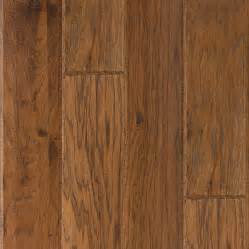 shop lm flooring 0 377 in hickory locking hardwood flooring sle autumn at lowes com