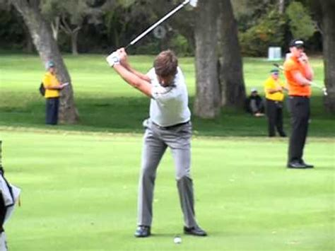 Robert Rock Golf Swing Slow Motion With An Iron Face