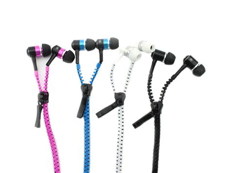 Earphone Zip zipper earphones