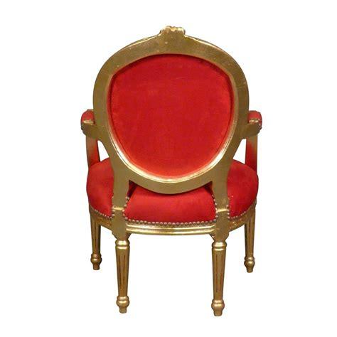 sillon luis xvi sill 243 n luis xvi rojo muebles luis xv