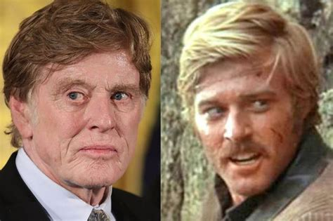 does robert redford wear a hair piece movie star robert redford looks a little too good for his