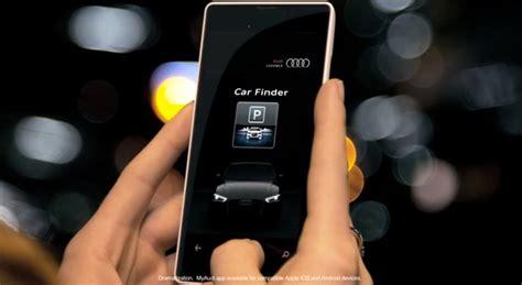 Audi Mmi Connect App by Audi S New App Lets You Send Destinations Find Your Car