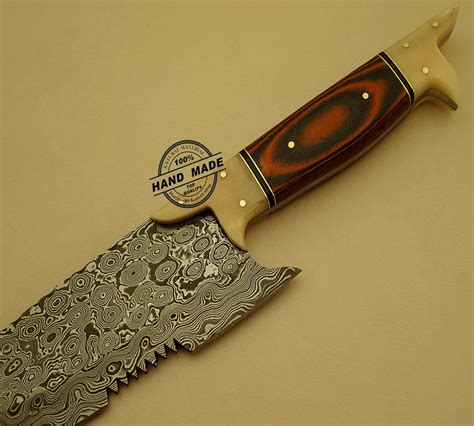 Handmade Chef Knives - damascus kitchen chef s knife custom handmade damascus