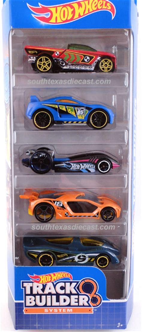 Track Builder Hotwheels Pack A track builder 5 pack model vehicle sets hobbydb