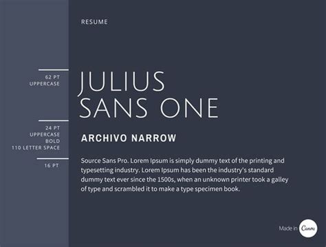 Best Resume Font Pairings by 30 Great Font Combinations For Your Next Design Project