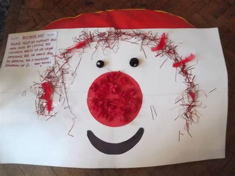 ideas for nose day woldingham nursery class