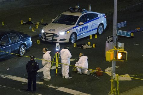 Two Officers by Assassinated Shock After Two Nypd Officers Gunned