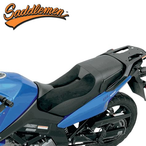 Suzuki V Strom Seat Saddlemen Adventure Track Seat For Suzuki V Strom Dl650