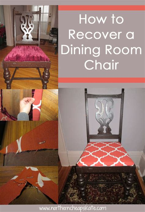 How To Recover A Dining Room Chair by How To Recover A Dining Room Chair