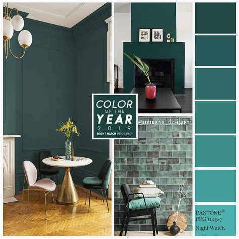 foto desain warna cat interior rumah minimalis  lantai