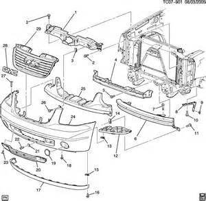 C Chevrolet Parts Bumper Front