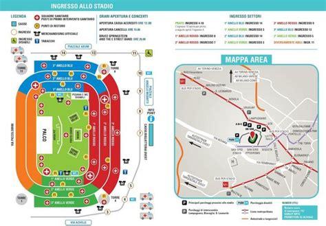 stadio san siro ingresso 7 bruce springsteen disponibili nuovi biglietti per