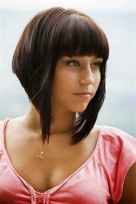 inverted bob hairstyles with fringe bob with bangs the best short hairstyles for women 2016