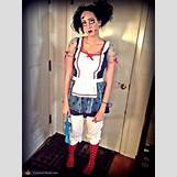 Homemade Broken Doll Costume | 508 x 677 jpeg 52kB