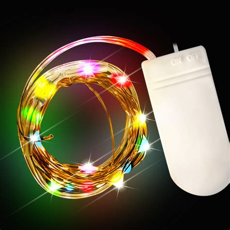 multi color led string lights light up novelties