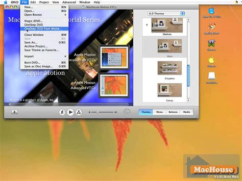 tutorial imovie 10 1 6 making your own dvd with imovie hd and idvd 10 machouse