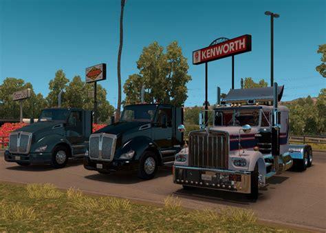 kenworth w900a kenworth w900a truck ats mod american truck simulator mod