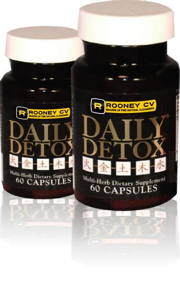 Rooney Cv Daily Detox Test by Products Daily Detox