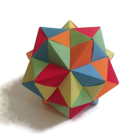 Geometric Origami Patterns - getting started with geometric modular origami artful maths