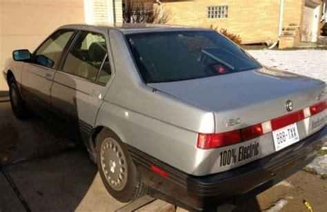 Ebay Motors Alfa Romeo by Classic 1991 Alfa Romeo 164 Converted To Electric Ebay