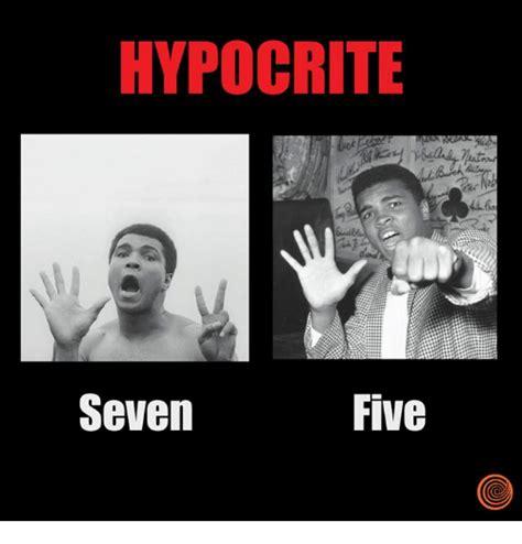 Hypocrite Meme - hypocrite five seven hypocrite meme on sizzle