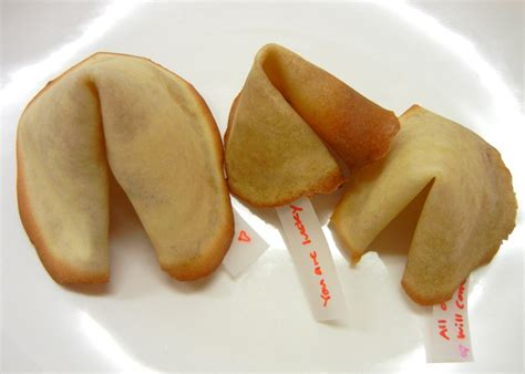 Handmade Fortune Cookies - diy how to make s day fortune cookies