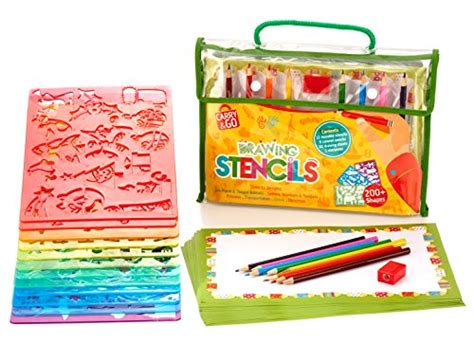 arts and craft sets for stencils and drawing set for by creativ craft