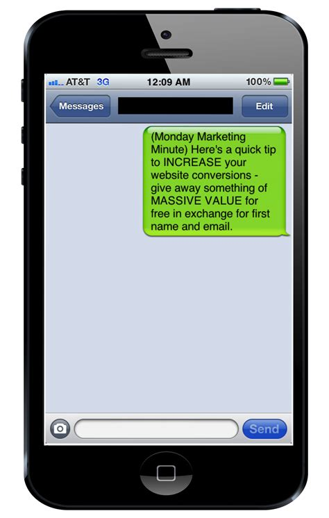 sms to mobile sms marketing for small business convert with content