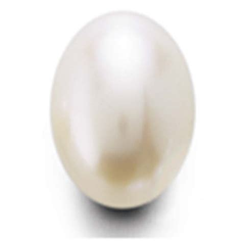 half pearl freshwater cultured half drilled 5 5 x 4mm oval pearl