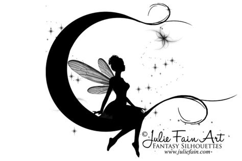fairy silhouette tattoo designs silhouette tattoos pic 23