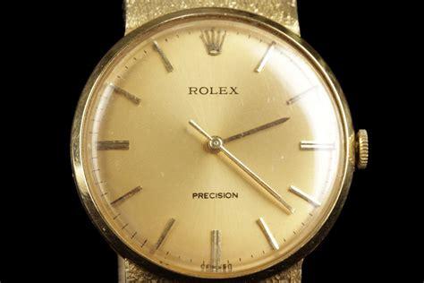 Rolex 3 2cm a vintage rolex precision 18k gold with 18k yellow