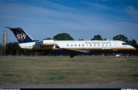 Lv Visto linea ala los regional jet de southern winds