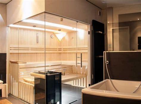 Sauna Mit Glas by Sauna Glasfront Haus Dekoration