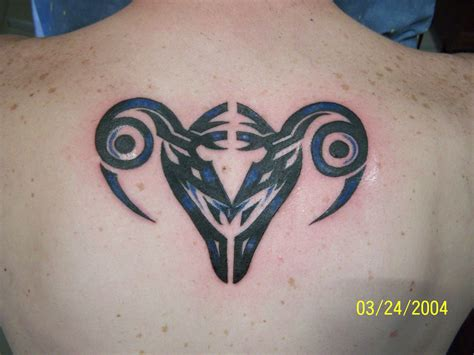 aries tribal symbol tattoo aries tattoos designs ideas and meaning tattoos for you