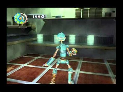 film robot game robots movie game walkthrough part 1 gamecube youtube