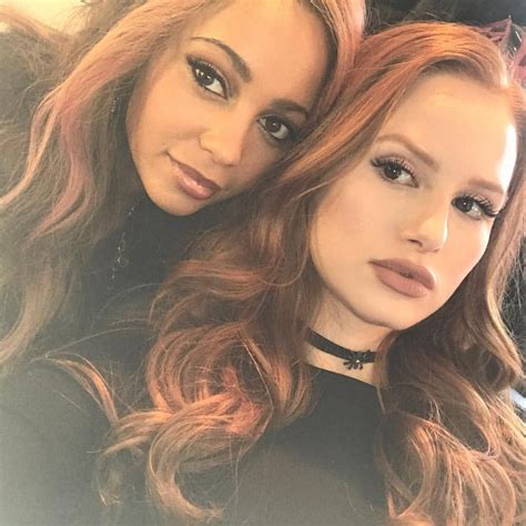 madelaine petsch series vanessa morgan and madelaine petsch girls pinterest
