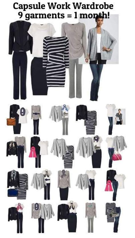Capsule Office Wardrobe by Capsule Work Wardrobe 9 1 Month At The Office