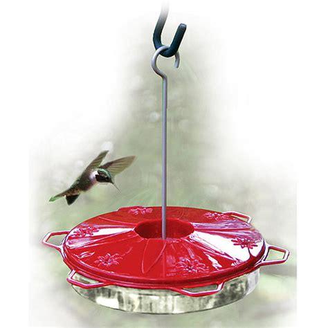 woodlink audubon classic plastic hummingbird feeder