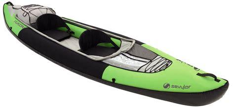 Kayak gonflable Sévylor YUKON KCC380 : Le kayak gonflable de rivière et de randonnée