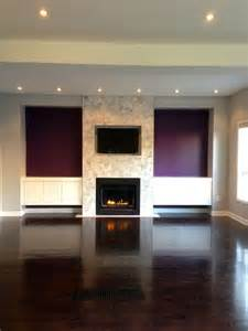 fireplace with accent walls home
