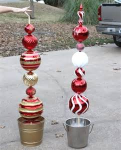Outdoor Christmas Ornaments by Attractive Diy Outdoor Christmas Decorations I Love Pink
