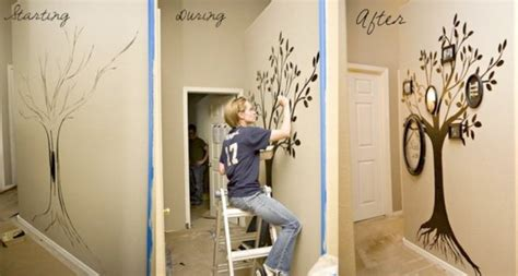 creative diy home decorating ideas 30 id 233 es pour r 233 aliser un magnifique arbre g 233 n 233 alogique