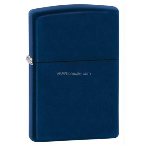 Zippo Lighter Matte zippo windproof navy blue matte lighter 239 wholesale