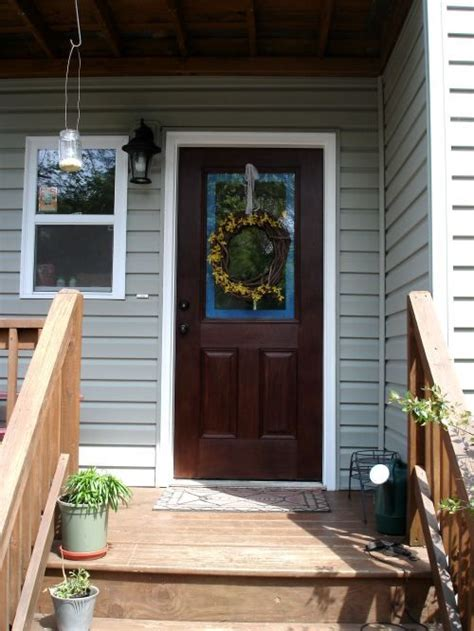 How To Stain A Fiberglass Front Door 17 Best Images About Fiberglass Doors On Custom Boxes Traditional And Fiberglass