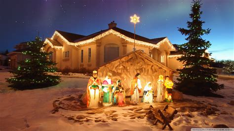 christmas wallpaper nativity scene download outdoor christmas nativity scene wallpaper